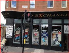 Glasgow sex shop selling adult magazines