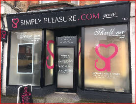 Licensed adult shop in Bournemouth
